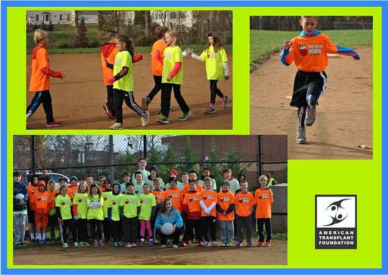 kickball collage